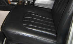 Renovated Bentley Leather Seat